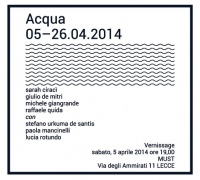 "5.4-26.04 -""Acqua"", mostra d'arte contemporanea"