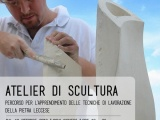 Atelier di Scultura -Tecniche di lavorazione della PietraLeccese