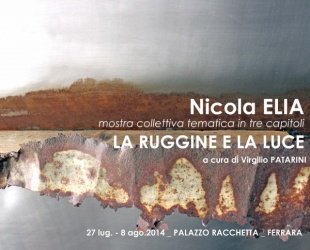 "27.7-8.8 ""La ruggine e la luce"""