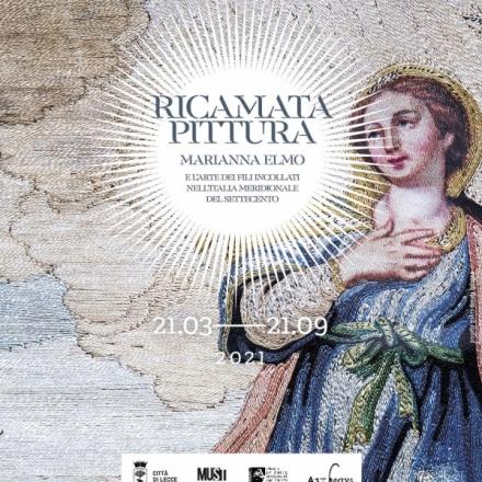 RICAMATA PITTURA   Marianna Elmo e l'arte dei fili incollati nell'Italia Meridionale del Settecento