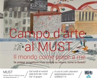Campo d'arte al Must 2020