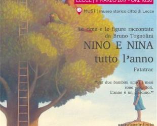 NINA E NINO TUTTO L'ANNO, DI BRUNO TOGNOLINI, ILLUSTRAZIONI DI PAOLO DOMENICONI- FATATRAC EDIZIONI