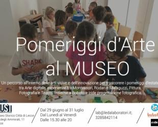 Pomeriggi d'arte al Museo